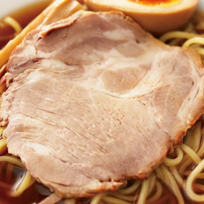 Thick tender pork slices (for ramen)-A