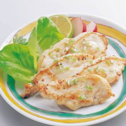 Grilled chicken with green onions and salt-A