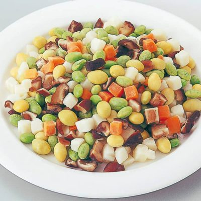 Colorful vegetable mix-A