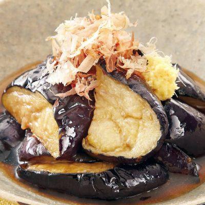 Fried eggplant-A
