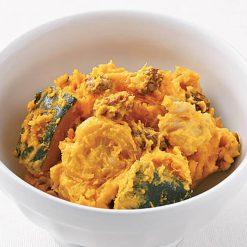Kabocha pumpkin salad with walnuts and raisins-A