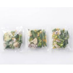 Easily microwaveable! Eight types of parboiled organic vegetables-B