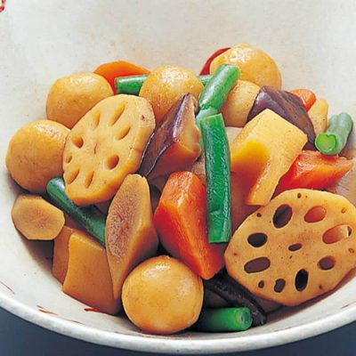 Organic mixed vegetables for stews-A