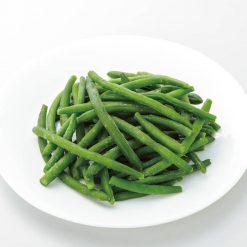 Organic Blue Lake string beans-A