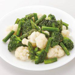 Organic Western-style vegetable mix-B