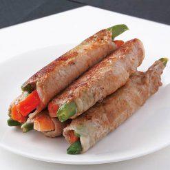 Pork wrapped vegetables-C