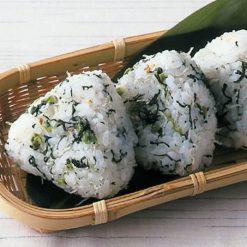 Nozawana chirimen (Japanese anchovies with turnip greens)-B
