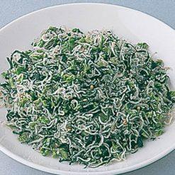 Nozawana chirimen (Japanese anchovies with turnip greens)-C