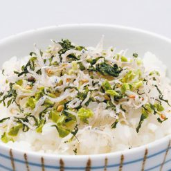 Nozawana chirimen (Japanese anchovies with turnip greens)-A
