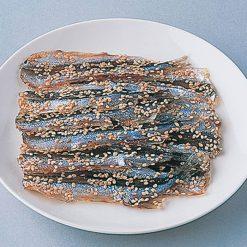 Sesame crusted fish jerky-B