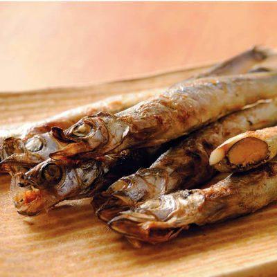 Sakhalin shishamo smelt (with roe!)-A