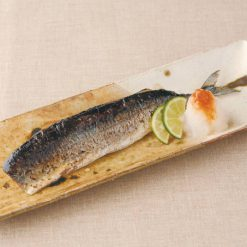 Pacific saury (backbone removed)-A