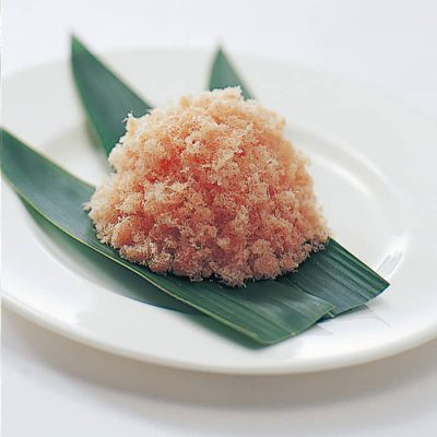 Sakura denbu (fish floss)-A
