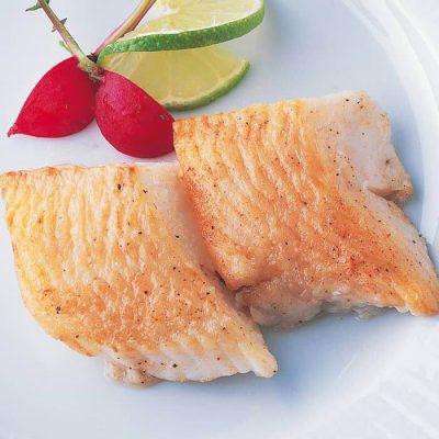 Sliced righteye flounder (skinless/boneless)-A