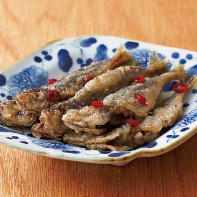 Nanban-style marinade with small Japanese horse mackerel-A