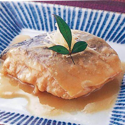 Mackerel cooked in miso (boneless)-A