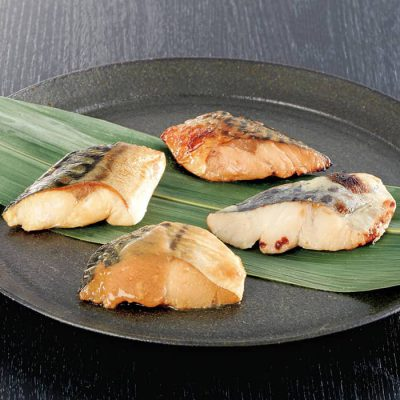 Set of fish for bento boxes-A