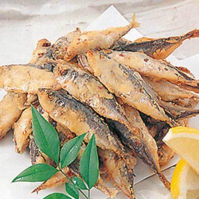 Deep-fried horse mackerel-A
