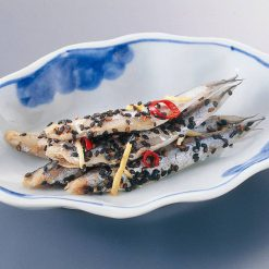 Pickled sesame anchovies-B