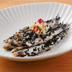 Pickled sesame anchovies-A