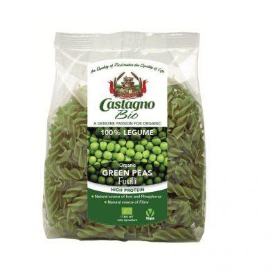 Castagno Organic Green Peas Fusilli