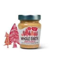 Whole Earth Organic 100% Peanuts Crunchy