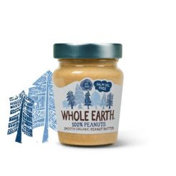 Whole Earth Organic 100% Peanuts Smooth