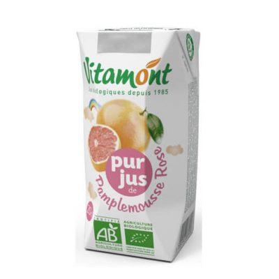 Vitamont Organic Pure-Pressed Pink Grapefruit Juice