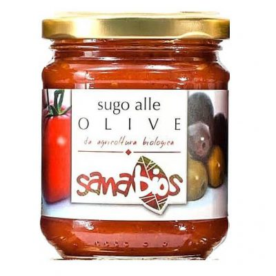 Sanabios Organic Pasta Sauce Olive