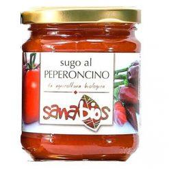 Sanabios Organic Pasta Sauce Peperoncino