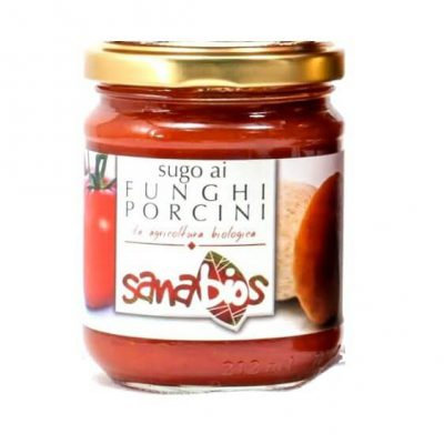 Sanabios Organic Pasta Sauce Mushroom (Porcini)