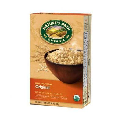 Nature's Path Organic Original Instant Hot Oatmeal
