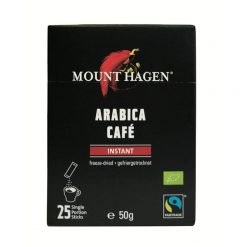 MOUNT HAGEN Organic Instant Coffee single serve