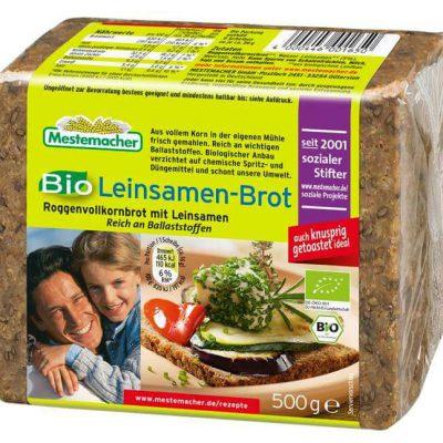 Mestemacher Bio Leinsamen-Brot