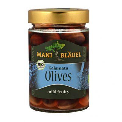 Mani-Blauel Organic Kalamata Olives in Brine