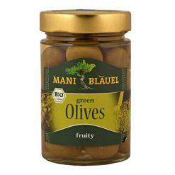 Mani-Blauel Organic Green olives in Brine