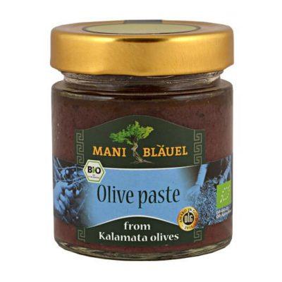 Mani-Blauel Organic Kalamata Olive Pate
