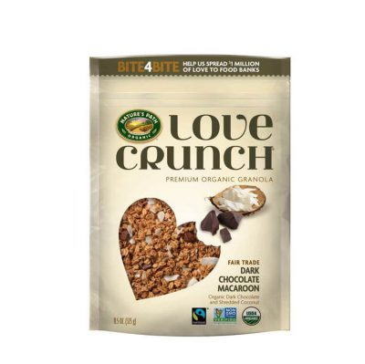 Love Crunch Organic Dark Chocolate Macaroon