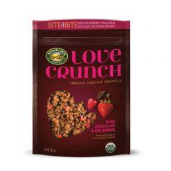 Love Crunch Organic Dark Chocolate & Red Berries