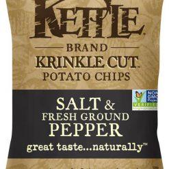 Kettle Salt & Fresh Ground Pepper - Krinkle Cut Potato Chips