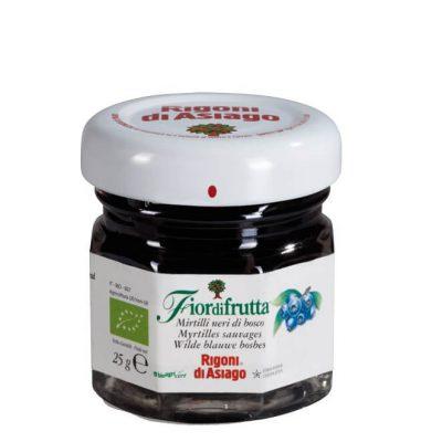Fiordifrutta Organic Wild Blueberry Fruit Spread