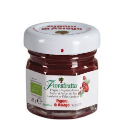 Fiordifrutta Organic Strawberry Fruit Spread
