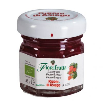 Fiordifrutta Organic Raspberry Fruit Spread