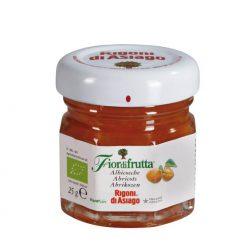 Fiordifrutta Organic Apricot Fruit Spread