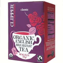 Clipper Organic English Breakfast (20 teabags with tag & envelope)