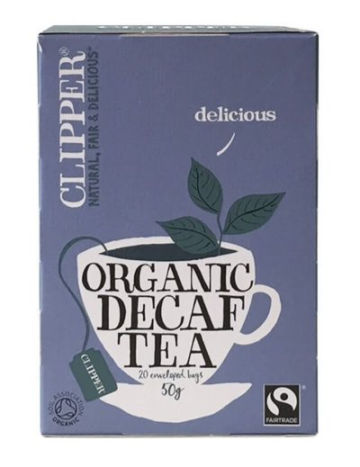 Clipper Organic Decaffeinated (20 teabags with tag & envelope)