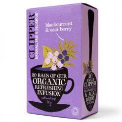 Clipper Organic Blackcurrant & Acai Berry (20 tea bags)