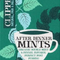 Clipper After Dinner Mints (20 teabags with tag & envelope)