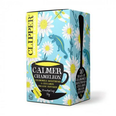Clipper Calmer Chameleon (20 teabags with tag & envelope)