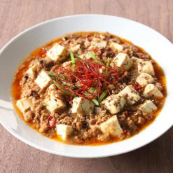 Mapo Tofu Soy Meat_cooked